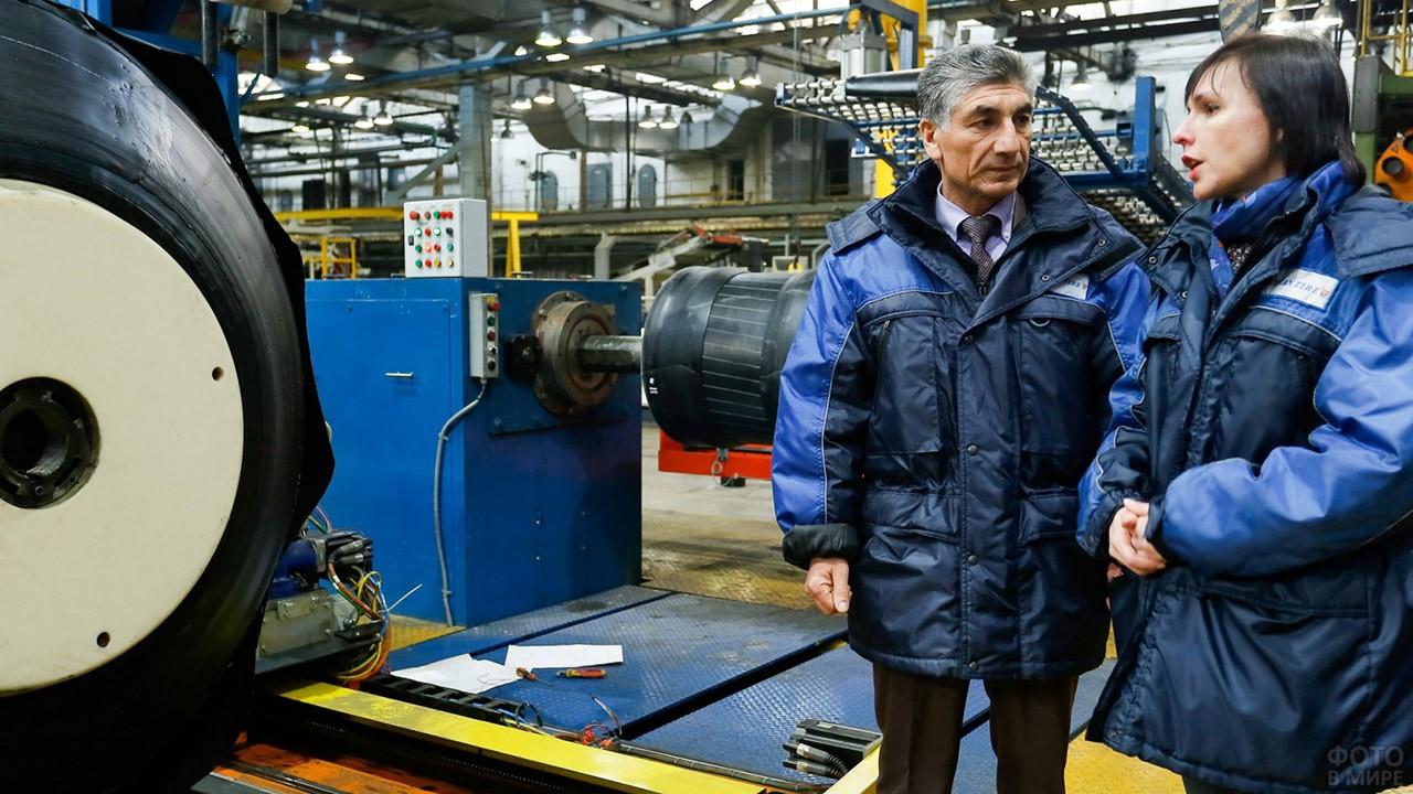Экскурсия по заводу крупногабаритных сельскохозяйственных шин в Волжске