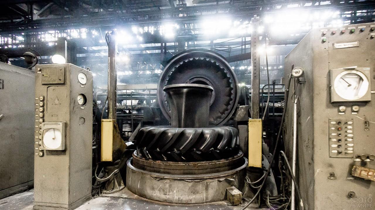 Производство крупногабаритных покрышек в Волгограде