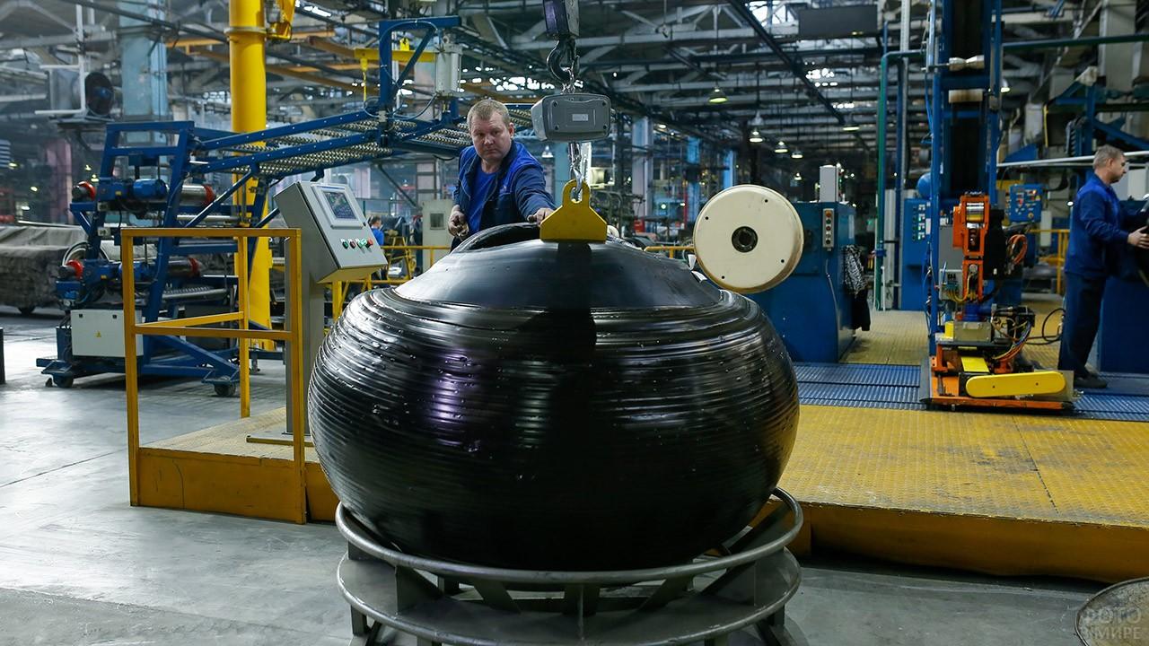 Завод Волтайр Пром в Волгограде