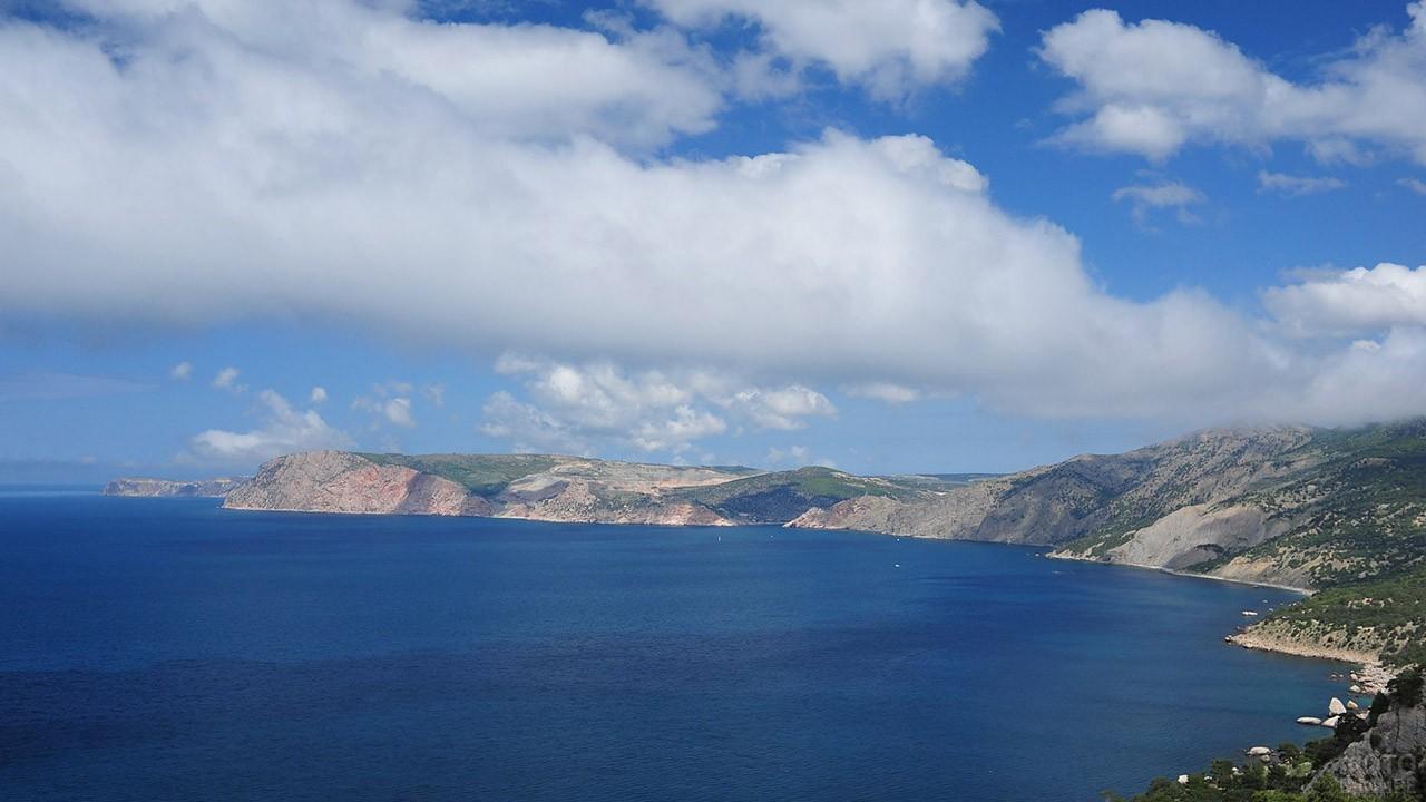 Панорама крымского побережья