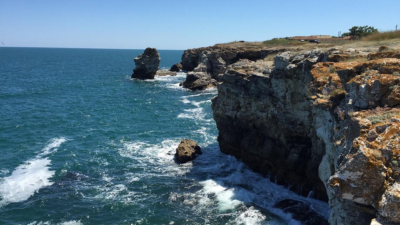 Утёс на болгарском побережье