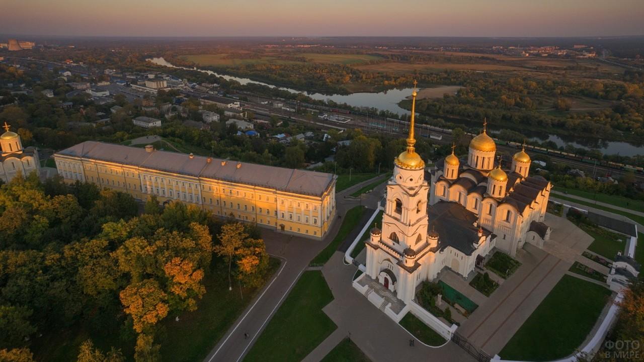 Город Владимир сверху