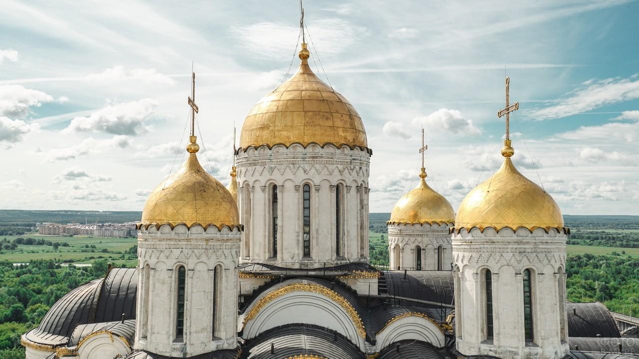 Золотые купола Храма
