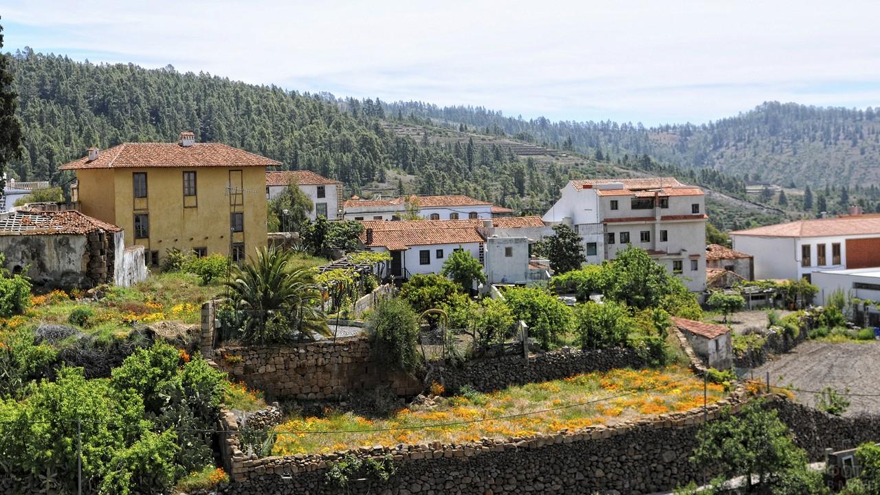 Деревня Вилафлор в Тенерифе