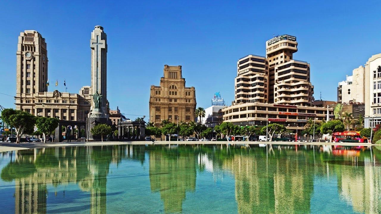 Площадь Испании в Тенерифе