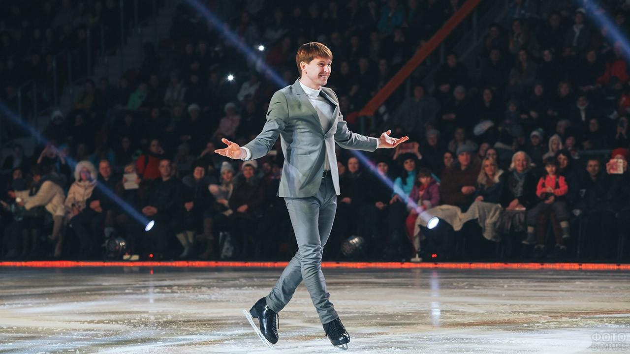 Алексей Ягудин на льду