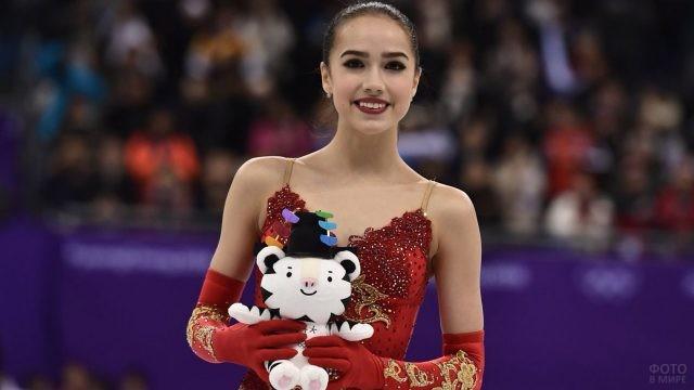 Алина Загитова на Олимпиаде-18