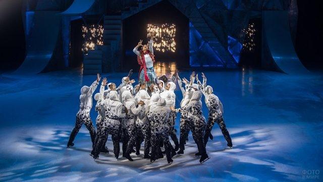 Артисты цирка Дю Солей на льду