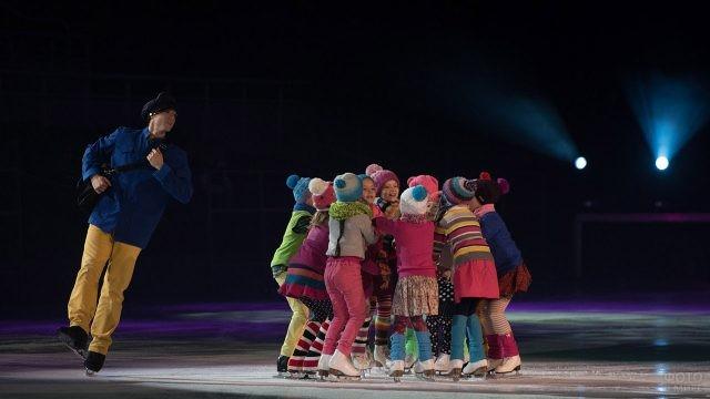 Детский спектакль на льду