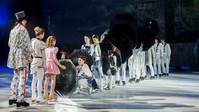 Красочное ледовое шоу