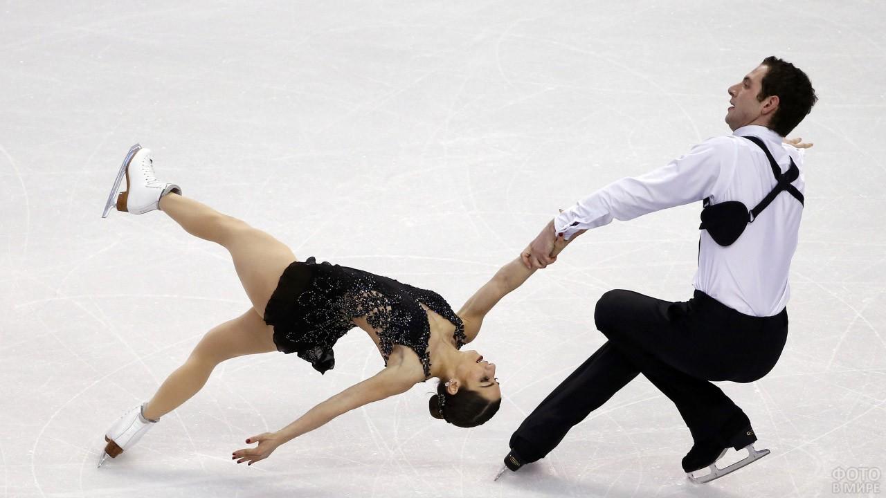 Пара на льду Олимпиады-14