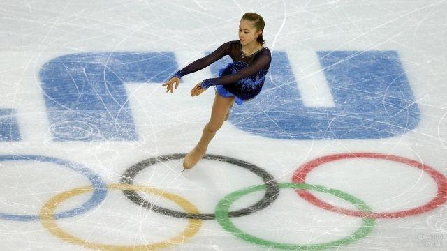 Танец Юлии Липницкой