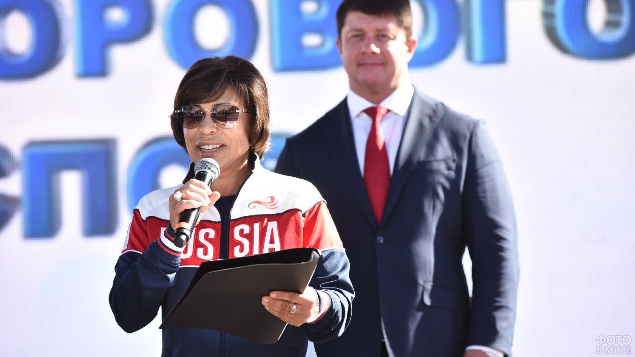 Тренер и педагог Ирина Роднина
