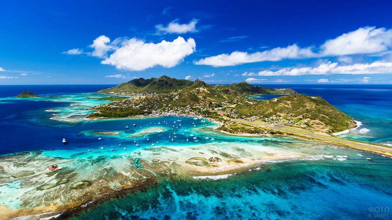острова в карибском море фото