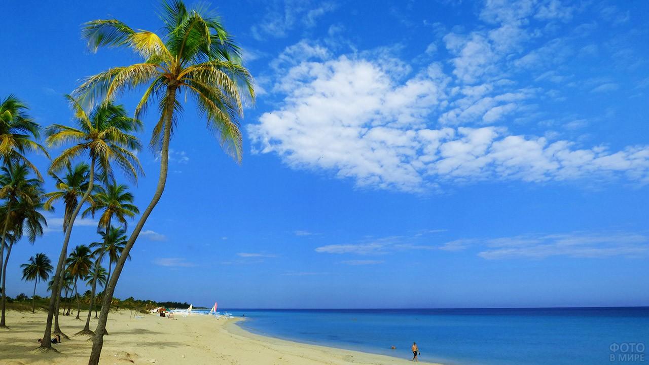 Кубинский берег Карибского моря