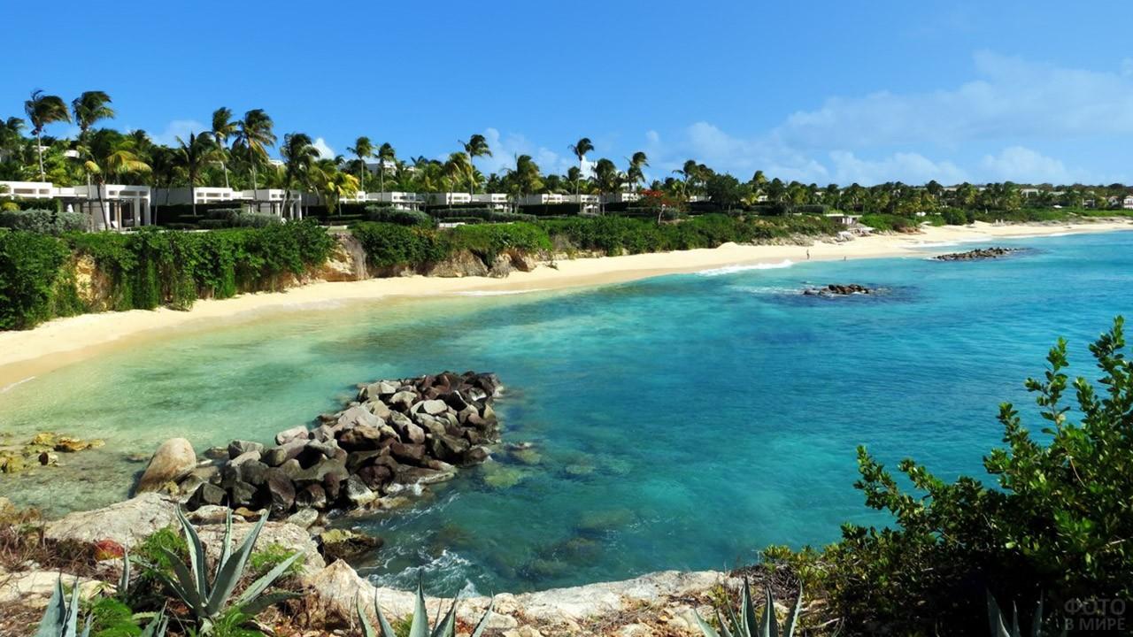 Курорт на острове Ангилья