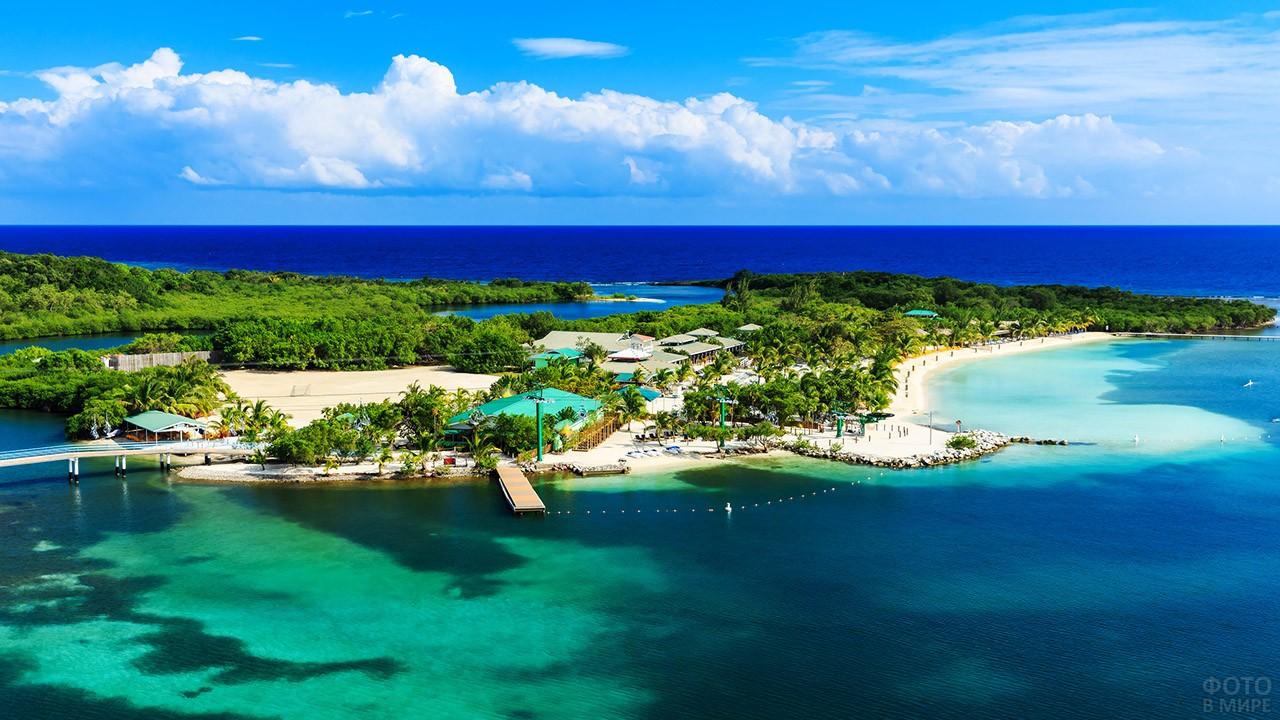Остров Утила в Гондурасе