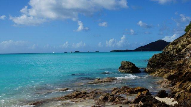 Уединённый уголок острова Антигуа