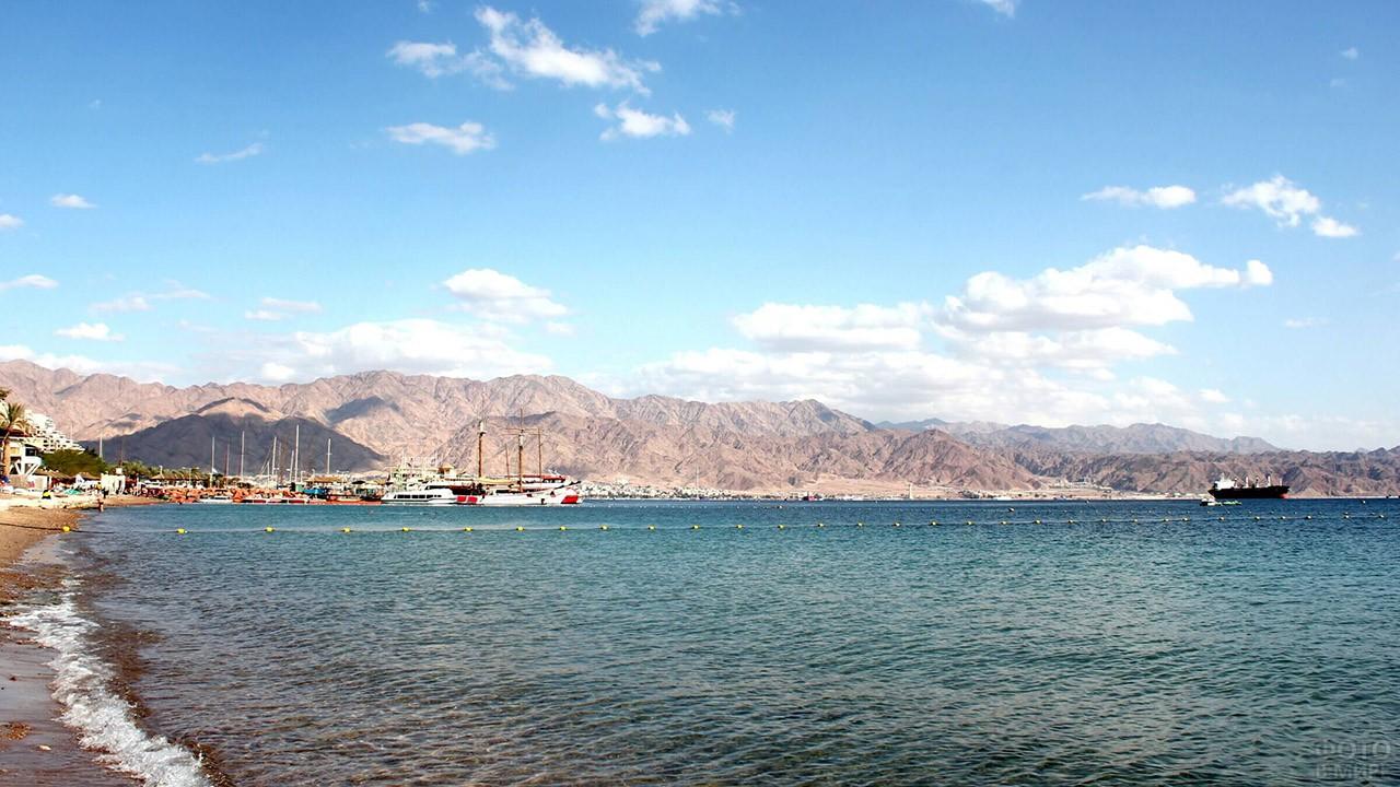 Акабский залив Красного моря