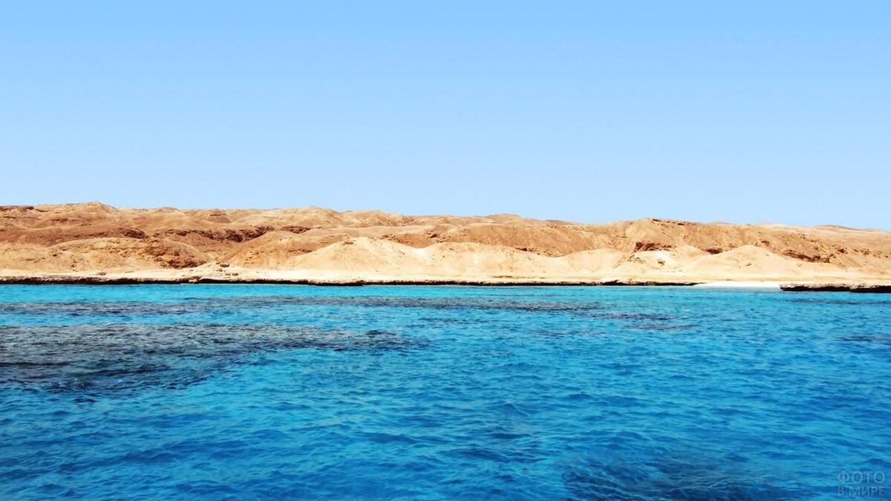 Бухта с диким пляжем