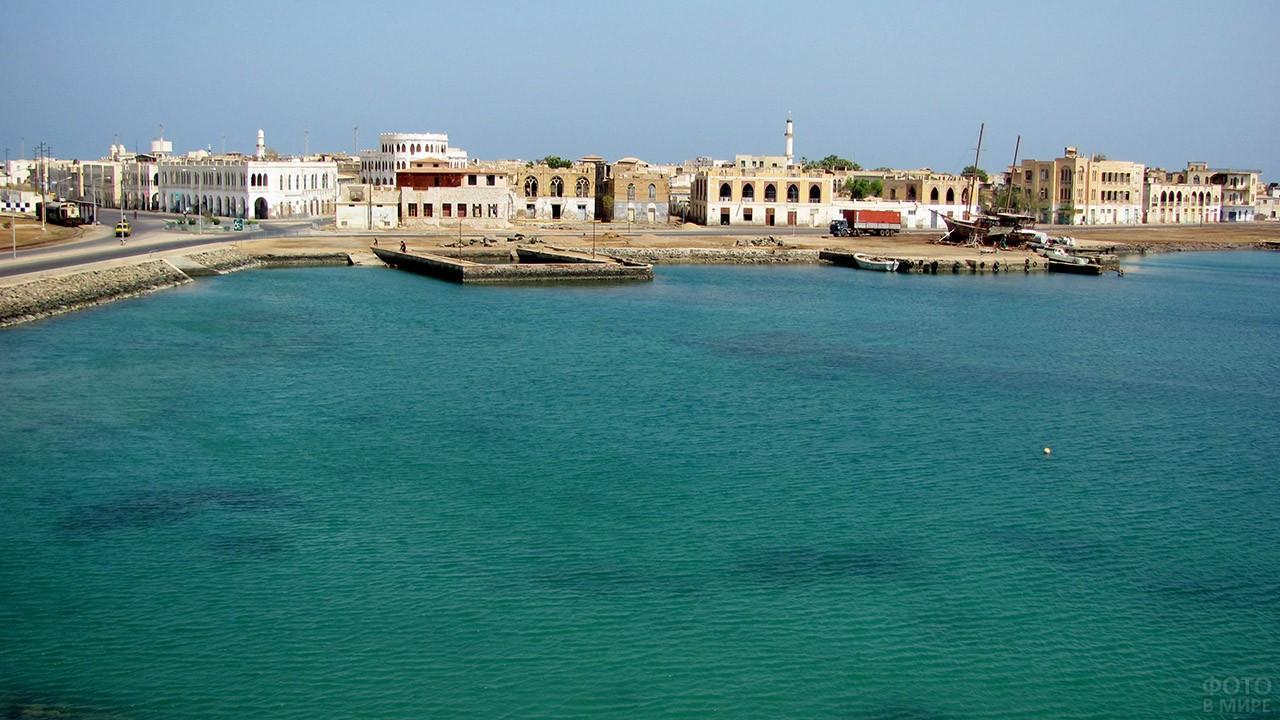 Порт Массауа в Эритрее