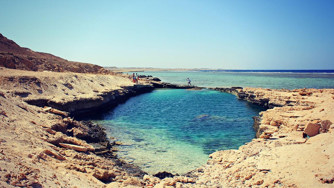 Тихая гавань в курорте Марса-Алам