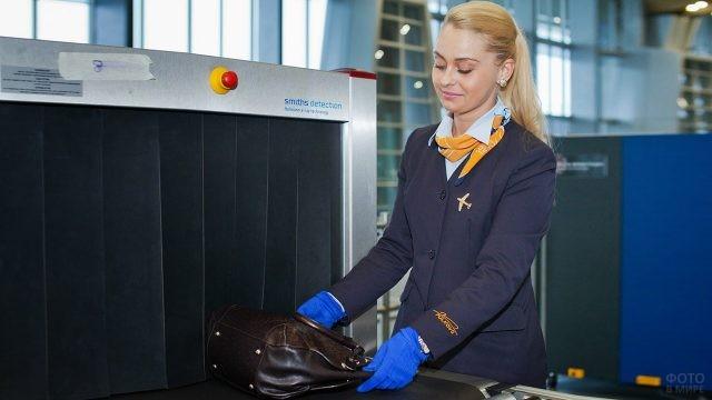 Инспектор по досмотру багажа