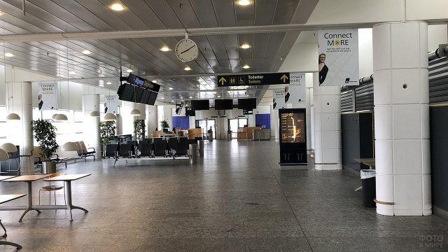 Выход на посадку в аэропорту Каструп, Копенгаген