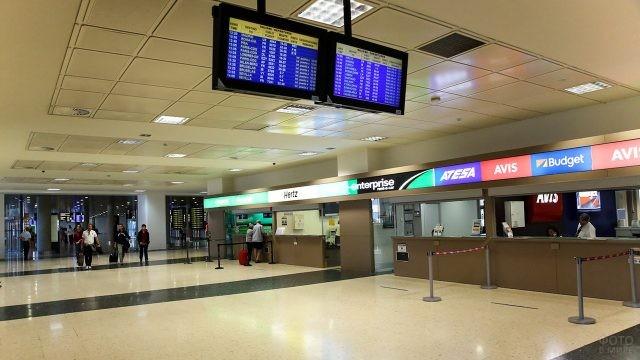 Зал прилёта аэропорта Валенсии