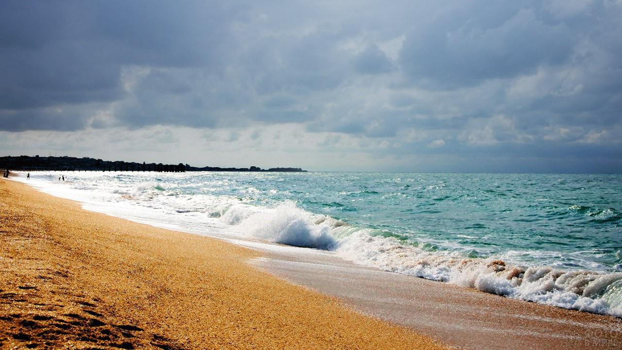 фото каспийских пляжей как выглядит