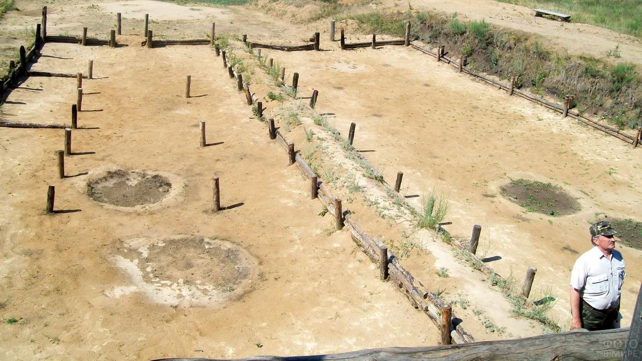 Место обитания древнего человека