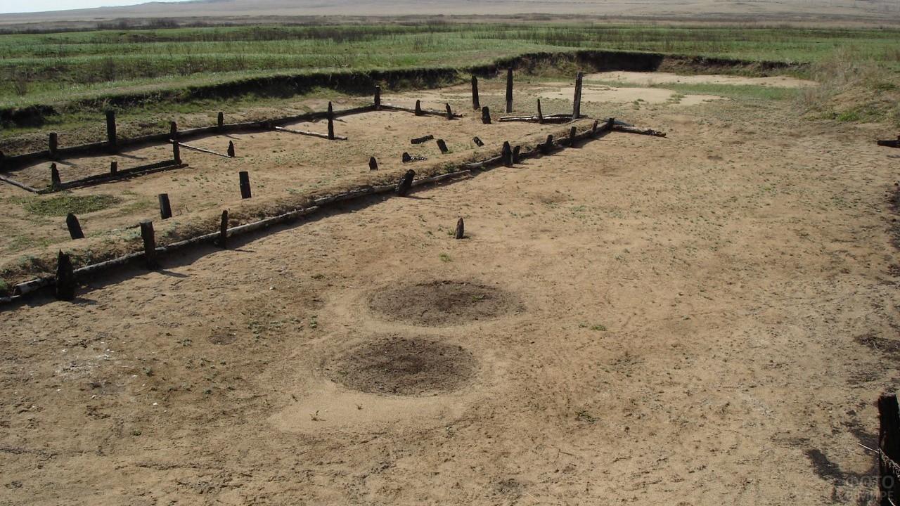 Площадка для раскопок