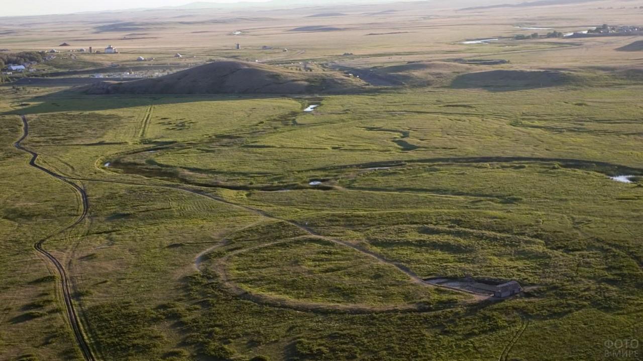 Степь в Челябинской области