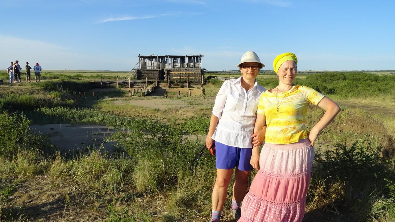 Женщины в поле на Урале