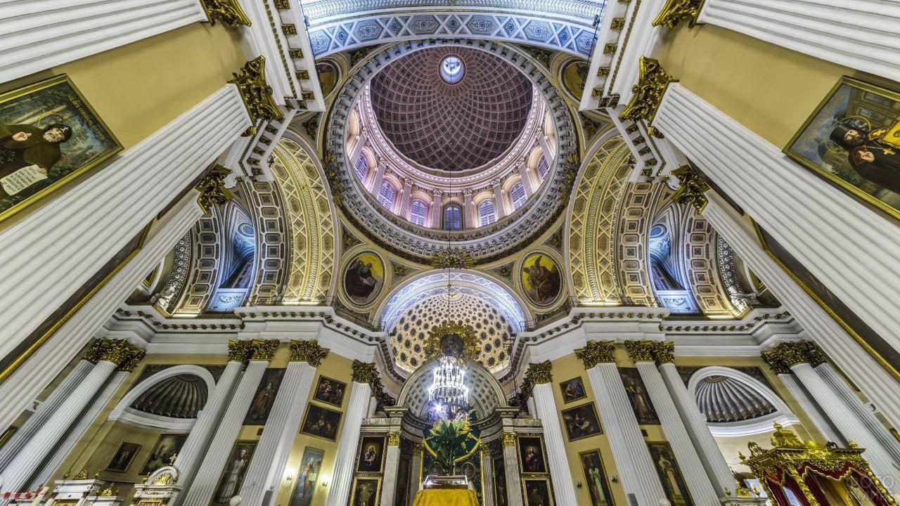 Свод Александро-Невской Лавры