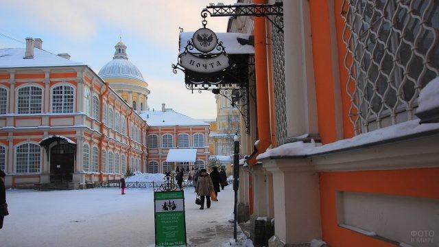 Улица на территории монастыря