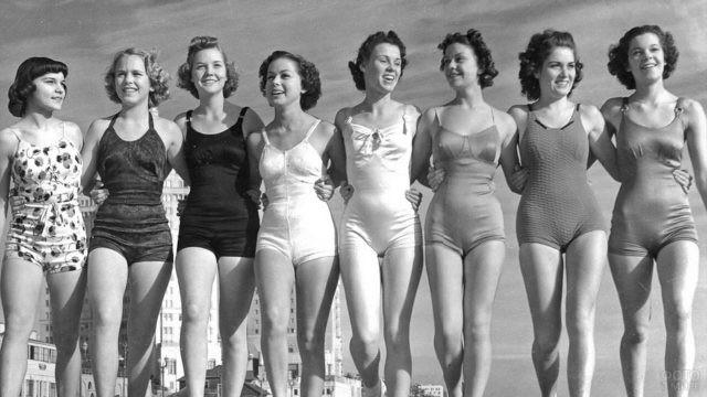 Пляжная мода 70 годов