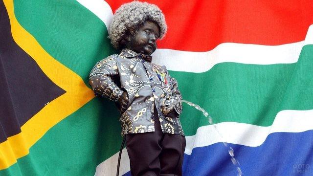 Флаг Южной Африки в честь Нельсона Манделлы