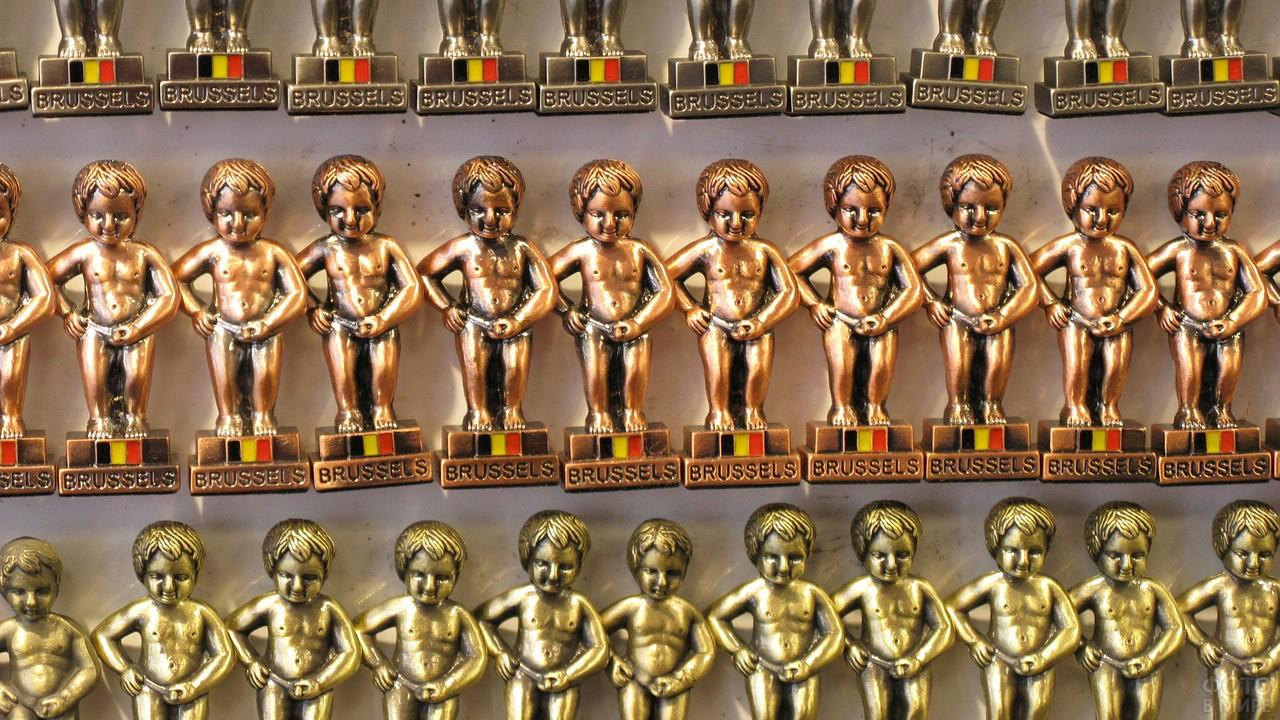 Популярный брюссельский сувенир