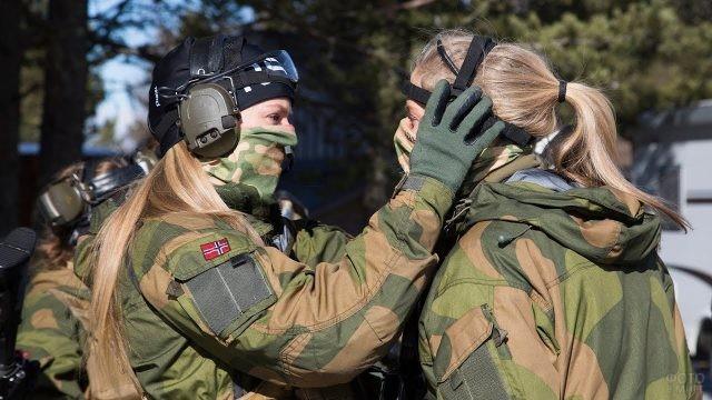 Девушки из спецназа Норвегии