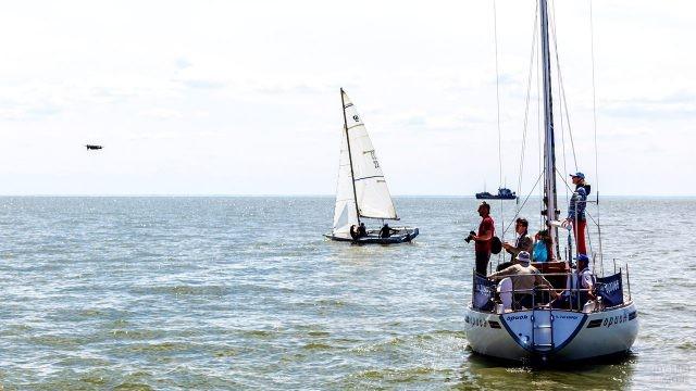 Члены яхт-клуба города Таганрог