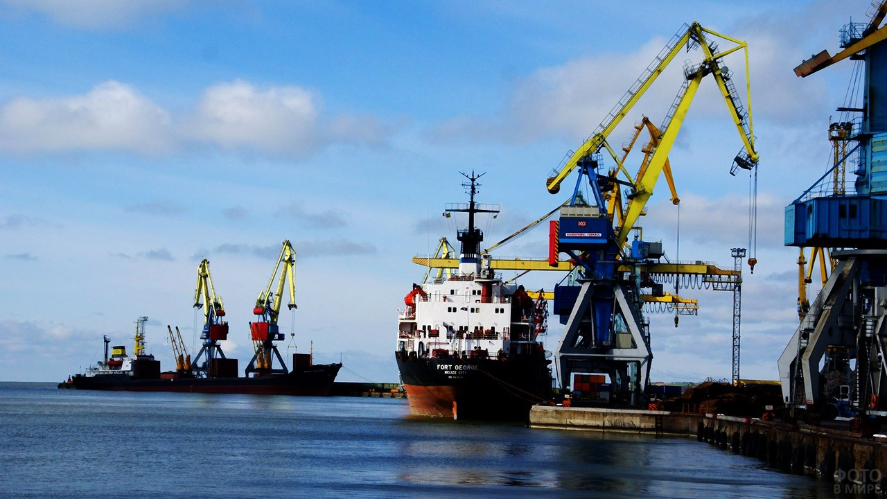 Мариупольский морской порт