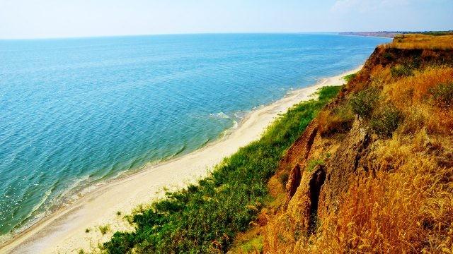 Пляж в хуторе Рожок