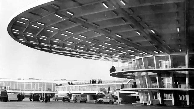 Терминал Рюмка в Шереметьево, 1964 год