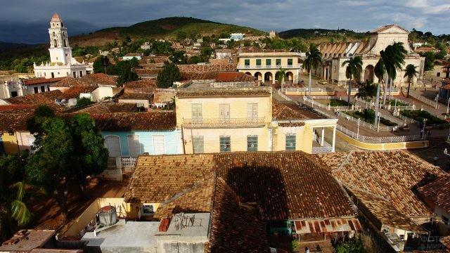 Центр города Тринидад под охраной ЮНЕСКО