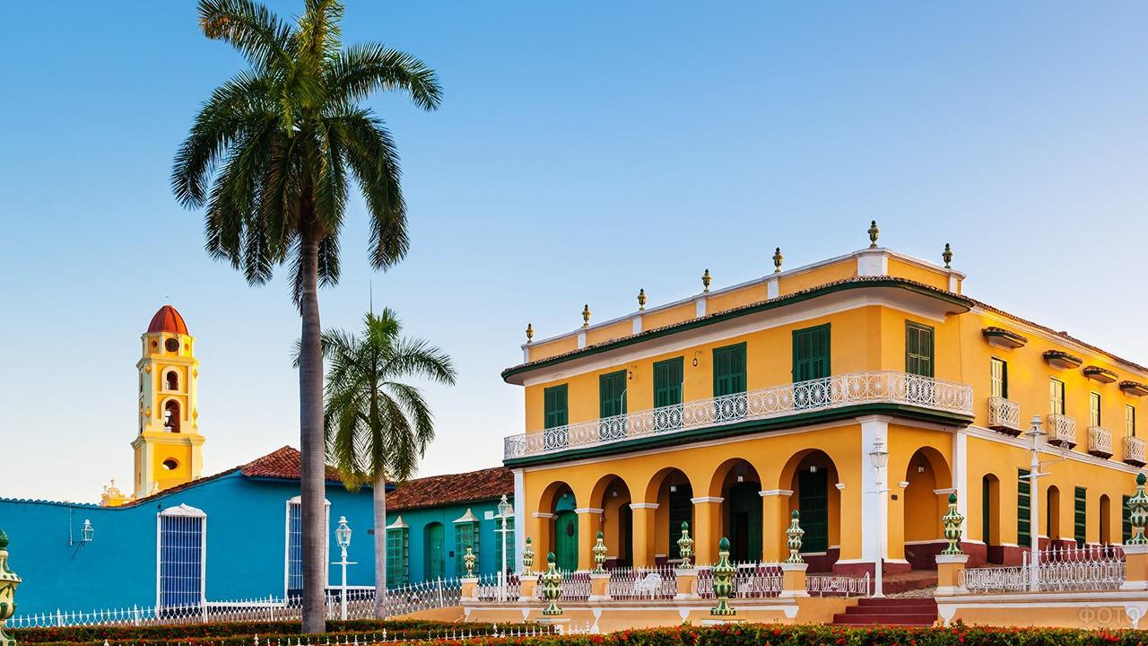 Дворец графа Брунета в городе Тринидад