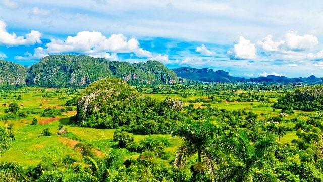 Изумрудная зелень долины Виньялес