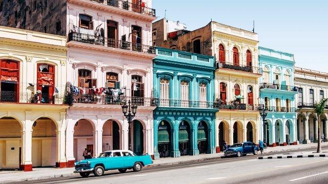 Нарядные улицы Старой Гаваны