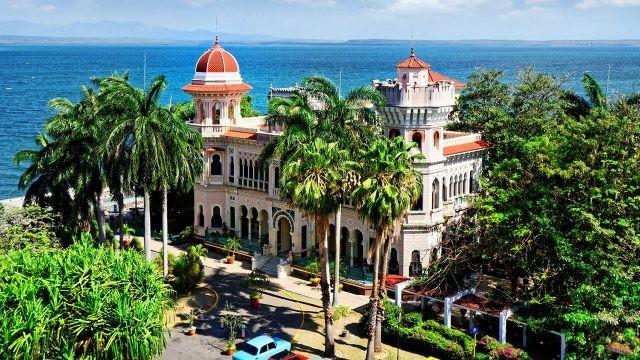 Нарядный город-порт Сьенфуэгос