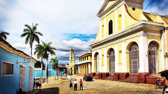 Основанный конкистадором Диего Веласкесом город Тринидад